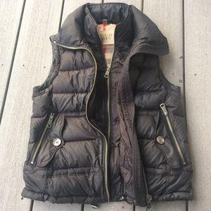 Burberry 2-Layer Zip Puffer Vest